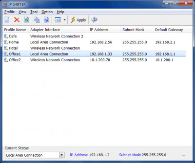 IP Shifter 3.0.0 screenshot