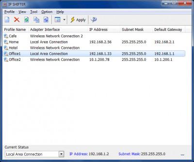 IP Shifter 3.2.0 screenshot