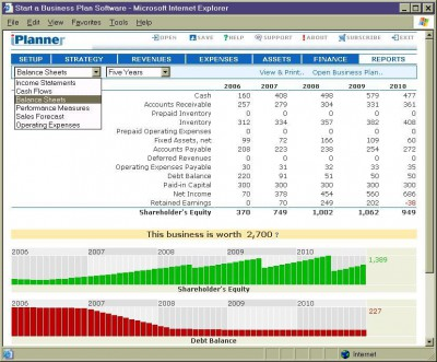iPlanner 1.2 screenshot