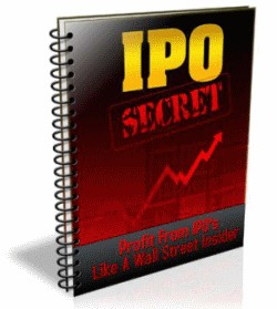 IPO Secrets 1.0 screenshot