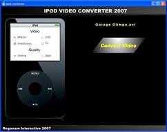 iPOD Video Converter 2007 1.5 screenshot