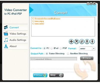 iPod Video Converter 912 screenshot