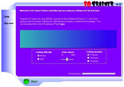 IQ test package 1.0 screenshot