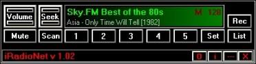 iRadioNet 2.01 screenshot