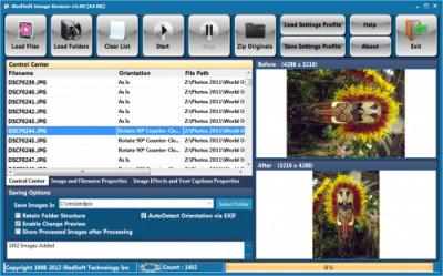 iRedSoft Image Resizer 5.45 screenshot
