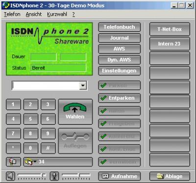 ISDNphone 2.2.16 screenshot