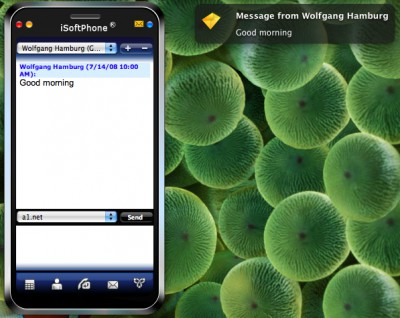 iSoftPhone 3.6 screenshot