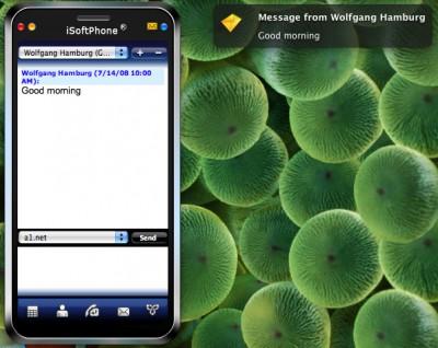 iSoftPhone 3.6 screenshot