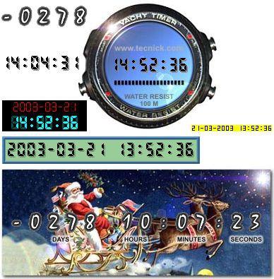 JADC (Advanced Digital Clock) 1.0.007 screenshot