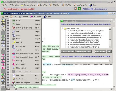 Jade Integrated Development Environment 3.8 screenshot