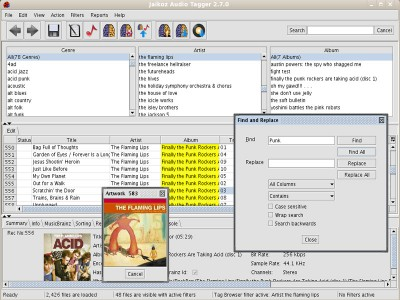 Jaikoz Tagger for Linux 3.6.0 screenshot