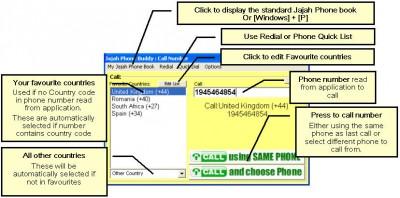 Jajah Phone Buddy V1.0.25 screenshot