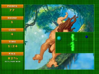 Jezzball Deluxe 1.5 screenshot