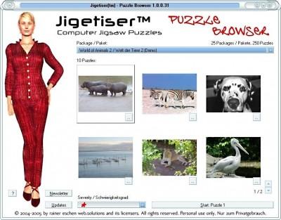 Jigetiser(tm) - Animals 2 Package 1.0.0.31 screenshot