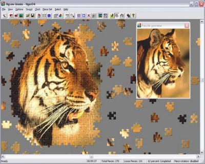 Jigsaw Mania 2.1 screenshot