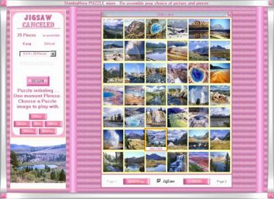 JigSaw Mixer Game 3.85 screenshot