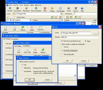 Jildi FTP Client 1.5.6 screenshot