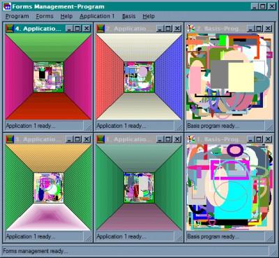 jk-ware MDI-Projektworkspace 3.0 screenshot