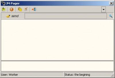 JM Pager 2.20 screenshot