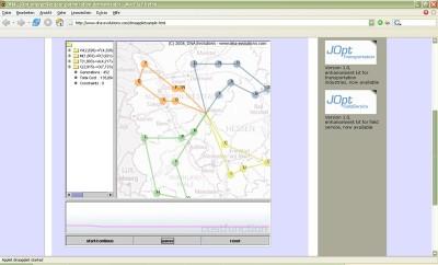 JOpt.SDK - route optimization library 2.1.0 screenshot