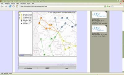 JOpt.SDK - vehicle routing library 4.0.6 screenshot