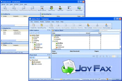 Joyfax Server 10.98.1018 screenshot