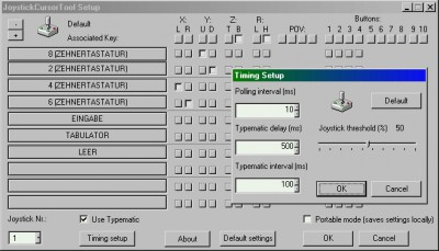 JoystickCursor Control Tool 2.21 screenshot