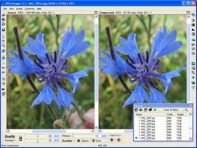 JPEG Imager 2.5.0 screenshot