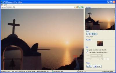 JPEG Recovery Professional 6.0 screenshot