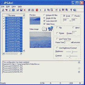 JPGAvi 1.07.0.68 screenshot