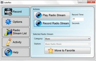 JukeRec 3.9.0 screenshot
