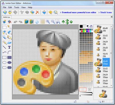 Junior Icon Editor 4.33 screenshot