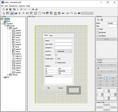 jvider 1.8.1 screenshot