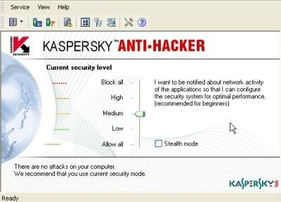 Kaspersky Personal Security Suite 1.2.66 screenshot