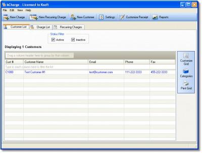 kCharge 2.0 screenshot