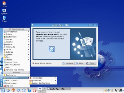 KDE 3.5.5 screenshot