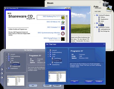 Keseling CD-Menü 6.5 screenshot
