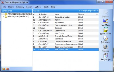Keyboard Express 4.4.0.1 screenshot