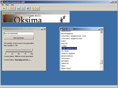 KeyWord Generator lite 1.0.0 screenshot
