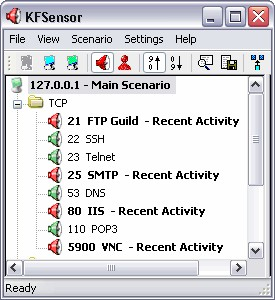 KFSensor 2.0.1 screenshot