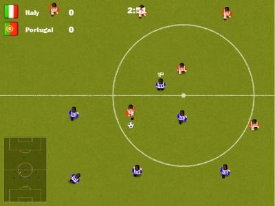 Kickin soccer 1.0 screenshot