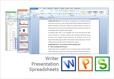 Kingsoft Office Suite Professional 2012 8.1.0.3377 screenshot