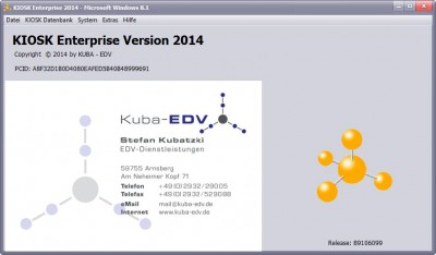 KIOSK Enterprise 2014 2014 screenshot