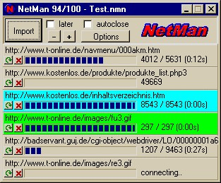 KIPPING's NetMan 2.00 screenshot