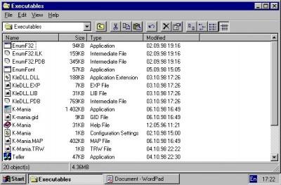 Kleptomania 2.8 screenshot