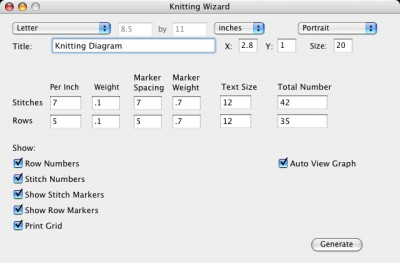 Knitting Wizard 1.1.2 screenshot