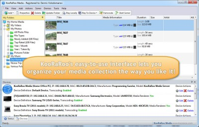 KooRaRoo Media 1.6.2 screenshot