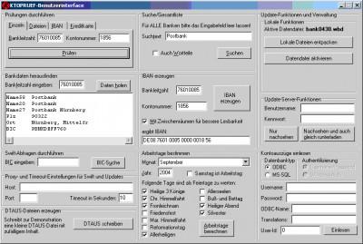 KtoPruef 2.0 screenshot