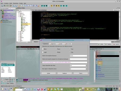 KVIrc 3.2.4 screenshot