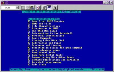 L-Nix 1.20a screenshot